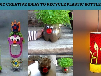 15 DIY Creative Ways to Recycle or Reuse Plastic Bottles - Life Hacks