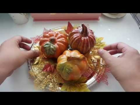 3 DIY Dollar Tree Fall Decorations for Under $12 - Fast & Easy