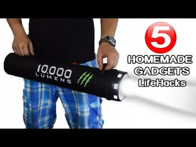 5 Incredible DIY Gadgets you can make at home|LifeHacks