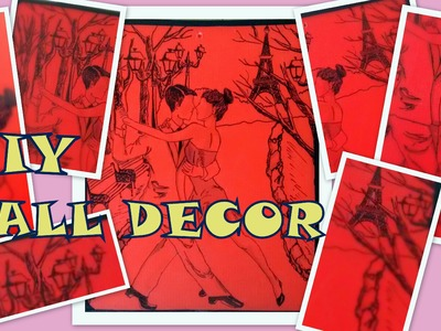 Cardboard sheet to Wall Decor DIY (Redefine craft) 2016