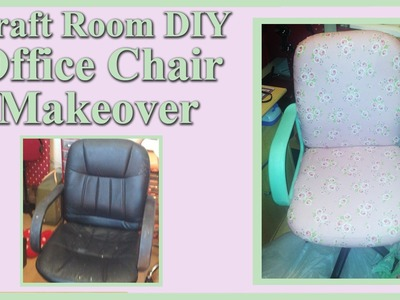 Craft Room DIY - Office Chair Makeover 2