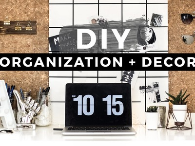 DIY Back to School Organization & Room Decor + GIVEAWAY!