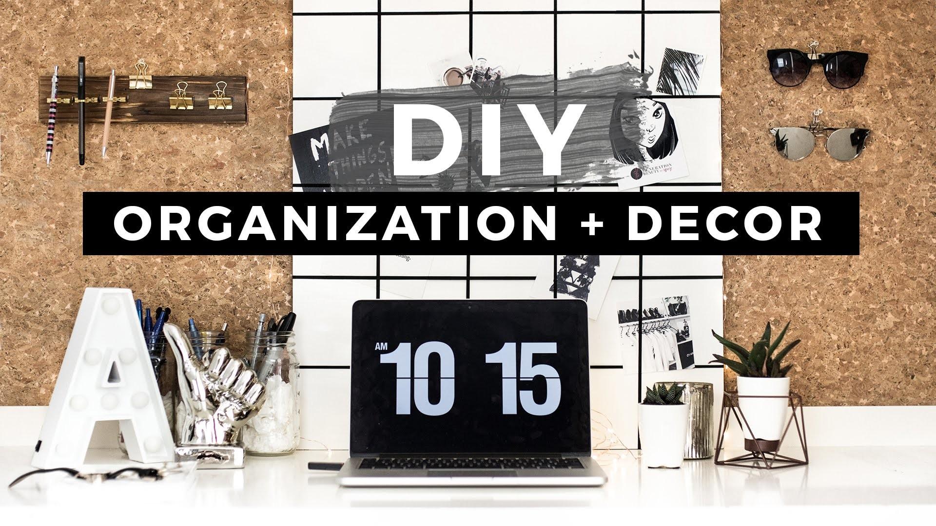 DIY Back to School Organization & Room Decor + GIVEAWAY!