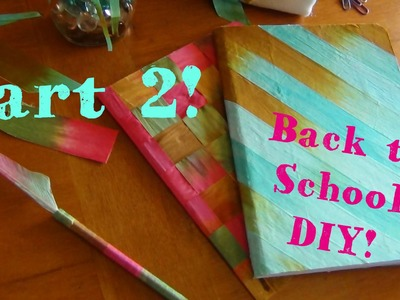 DIY Back to School! ♥ Pencil Case, Bookmarks and Feather Pens