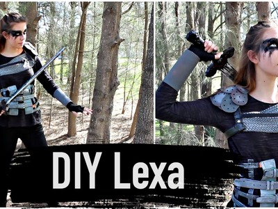 DIY Commander Lexa Costume- The 100 Cosplay Tutorial | Natasha Rose