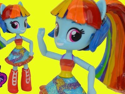 DIY Custom My Little Pony Rainbow Dash Princess Twilight Sparkle Pony Tail Hair Swap