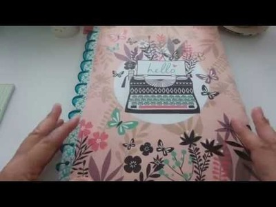 DIY Dollar Tree Happy Planner Cover - Fast and Easy