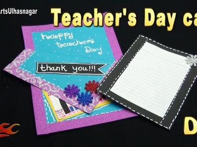 DIY Easy Teachers Day Greeting Card  |  JK Arts  1058  #TeachersDay