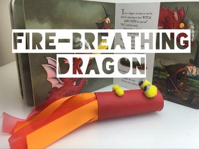 DIY FIRE BREATHING 'TOILET ROLL' DRAGON | Kids Craft - Mummy Maker