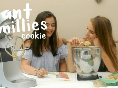 DIY GIANT MILLIE'S COOKIE. BAKING WITH BETH