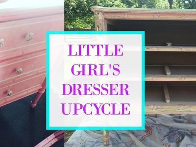 DIY | LITTLE GIRL'S DRESSER MAKEOVER