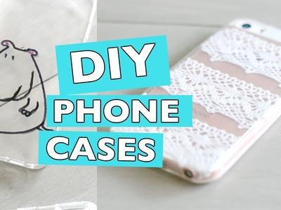 DIY Phone Cases | Using Lace, Nail Polish and Sharpies