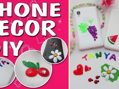 DIY PHONE DECOR. FROM THE HOT GLUE. Changeble. PHONE CASE