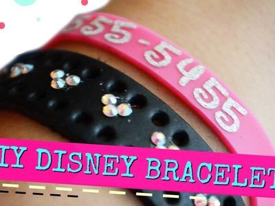 DIY Phone Number Bracelets for Disneyland