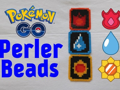 DIY Pokemon: Generation 1 Badges (Hama.Perler Beads) Tutorial #24