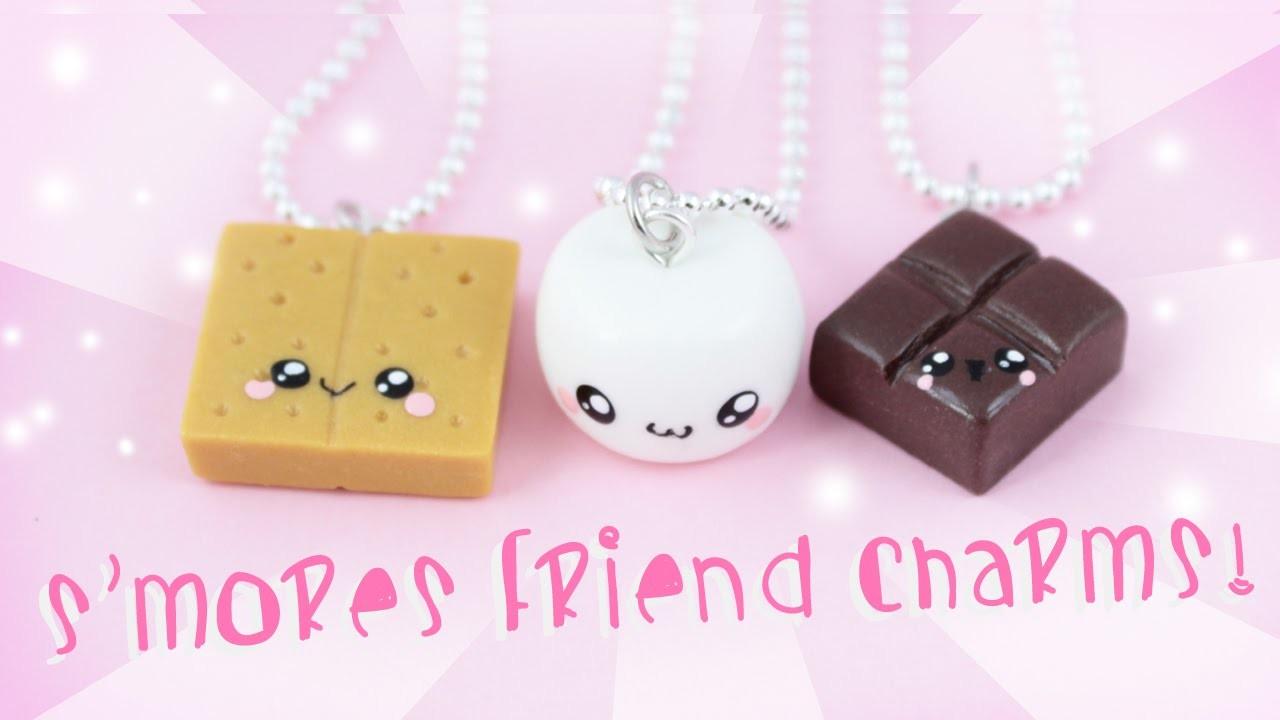 ♡ DIY S'mores Friendship Charms ♡   Kawaii Friday