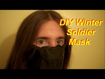 DIY Winter Soldier Costume: Mask