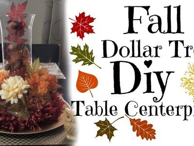 Dollar Tree| DIY | Autumn | Table Centerpiece
