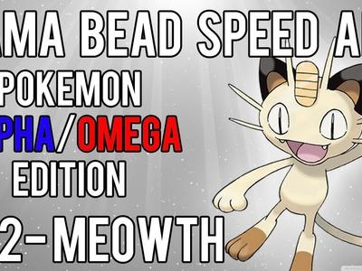 Hama Bead Speed Art | Pokemon | Alpha.Omega | Timelapse | 052 - Meowth
