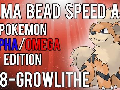 Hama Bead Speed Art   Pokemon   Alpha.Omega   Timelapse   058 - Growlithe