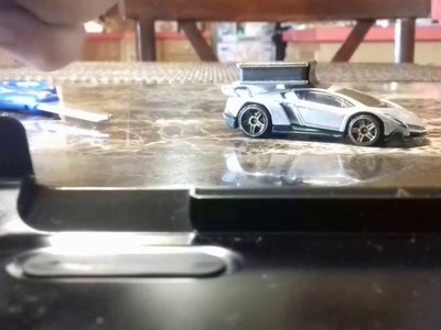 How to make a magnetic toy car