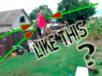 How to make a super mini kite made of paper!