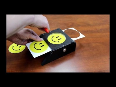 How to Use The Graphic Tabletop Punch For Button.Badge Making