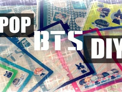 KPOP - BTS School Supplies DIY