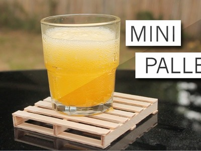 Making & Living: DIY Mini Pallet Coaster
