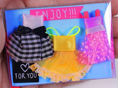 Miniature Doll Dresses set DIY