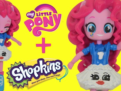 MY Little Pony Pinkie Pie Happy Meal Toy Shopkins DIY Custom Tutorial