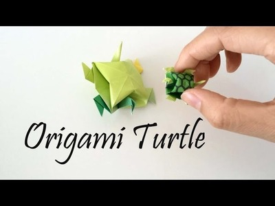 Origami - Turtle tutorial