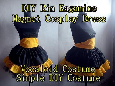Rin Kagamine Magnet Costume ( DIY Simple Tutorial)