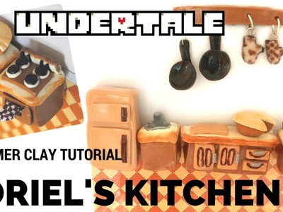 UNDERTALE Polymer Clay Tutorial-Toriel's Kitchen Magnets and Dry-Erase Board DIY