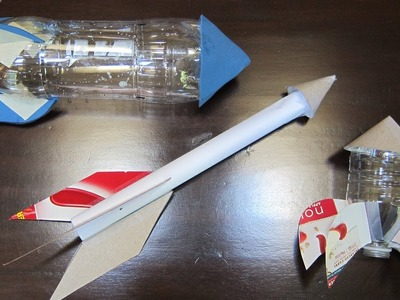 Air Powered Rockets Part 3: Easy Paper and Plastic Bottle Rockets