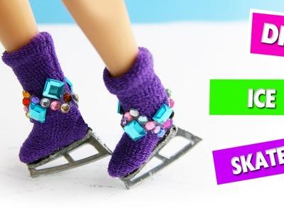 DIY | Doll Ice Skates - Easy Doll Crafts - simplekidscrafts