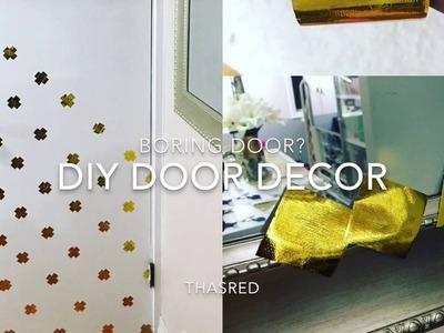 DIY door decor