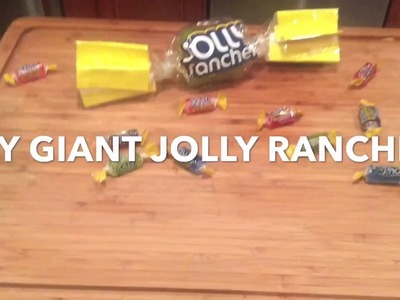 DIY GIANT JOLLY RANCHERS