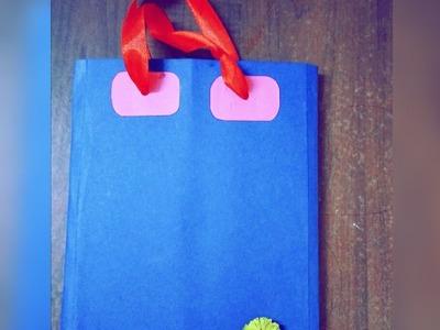 DIY(Hindi): How to make Mini Paperbag