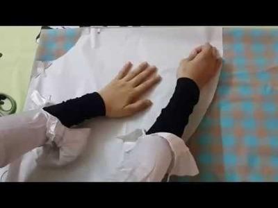 DIY  How to make girl circle skirt easily and professional .