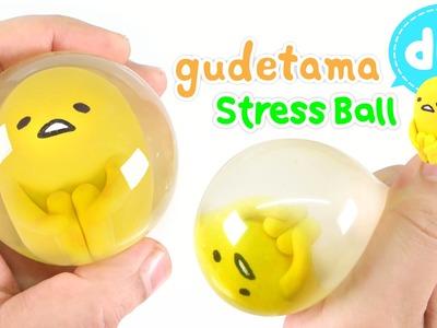 DIY How To Make Gudetama Stress Ball !! Easy Way~