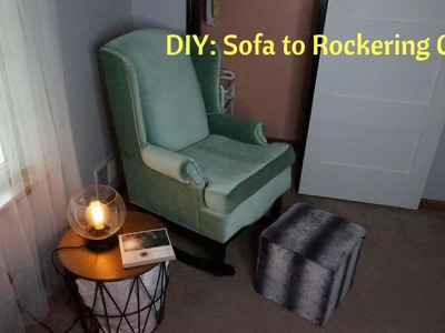 DIY: How To Transform A Sofa Chair to a Rocker | Viktoriya Cole