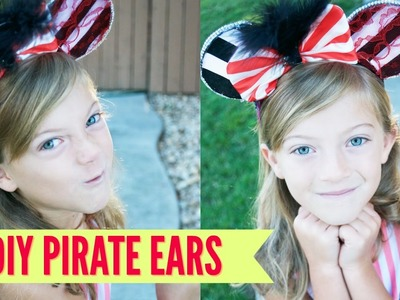 DIY Pirate's of The Carribean Wire Ears - NO SEW