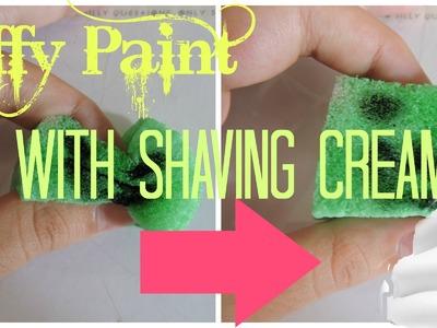 DIY Puffy Paint WITH Shaving Cream! ~Jennyproducevids~