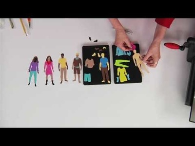 Ellison Education Video Series: Making and Dressing Paper People with Sandi Genovese