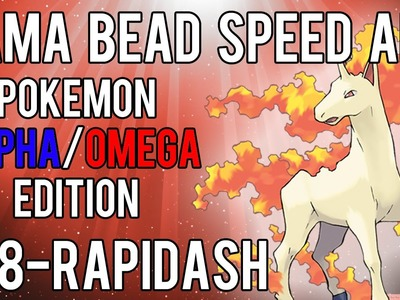 Hama Bead Speed Art | Pokemon | Alpha.Omega | Timelapse | 078 - Rapidash
