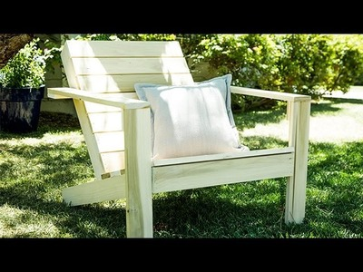 How To - DIY Adirondack Chairs – Hallmark Channel
