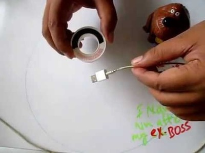 How To Fix (Repaire) iPhone Charger Wire (cable )