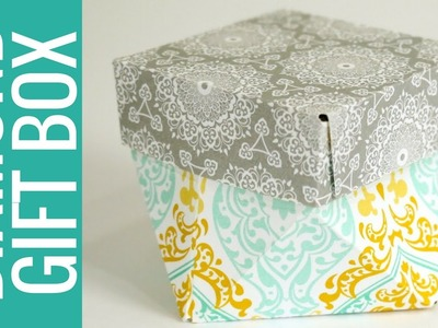 How to Make a Diamond Gift Box: Gift Bag Punch Board