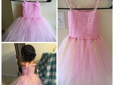 How to make a tutu dress || DIY